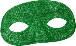 Oogmasker Glitter Groen