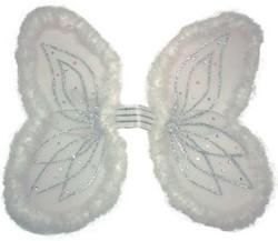 Vleugels Engel Wit Marabou