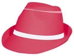 Gangster Hoed Neon Pink