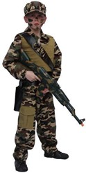 Kinder Legerkostuum Action Force
