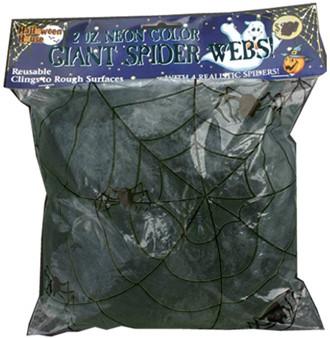Spinnenweb +2 GID spinnen Zwart