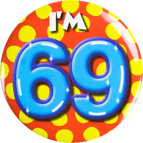 Button 69 jaar