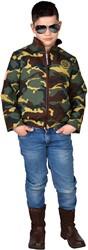 Camouflage Leger Jasje voor kinderen