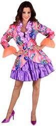 Carnavalsjas Summer Flower voor dames