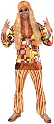 Herenkostuum Hippie Retro