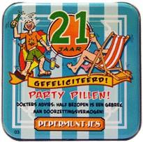 Pocket Tin 21 jaar