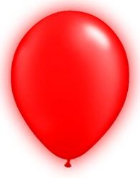 LED Ballonnen Rood (5 stuks)