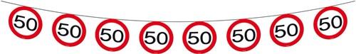 Vlaggenlijn 50 jaar Verkeersbord