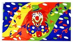 Clowns Vlag 130x80cm