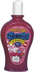 Shampoo Rijbewijs!