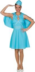 Stewardess Blauw