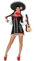 Kostuum Mexicaanse Lady