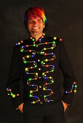 Herenjas Sirius Zwart-Goud met LED-verlichting