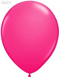Ballonnen Metallic Pink 35cm - 100 stuks