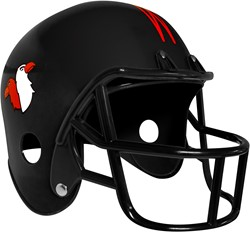American Football Helm Zwart Eagles