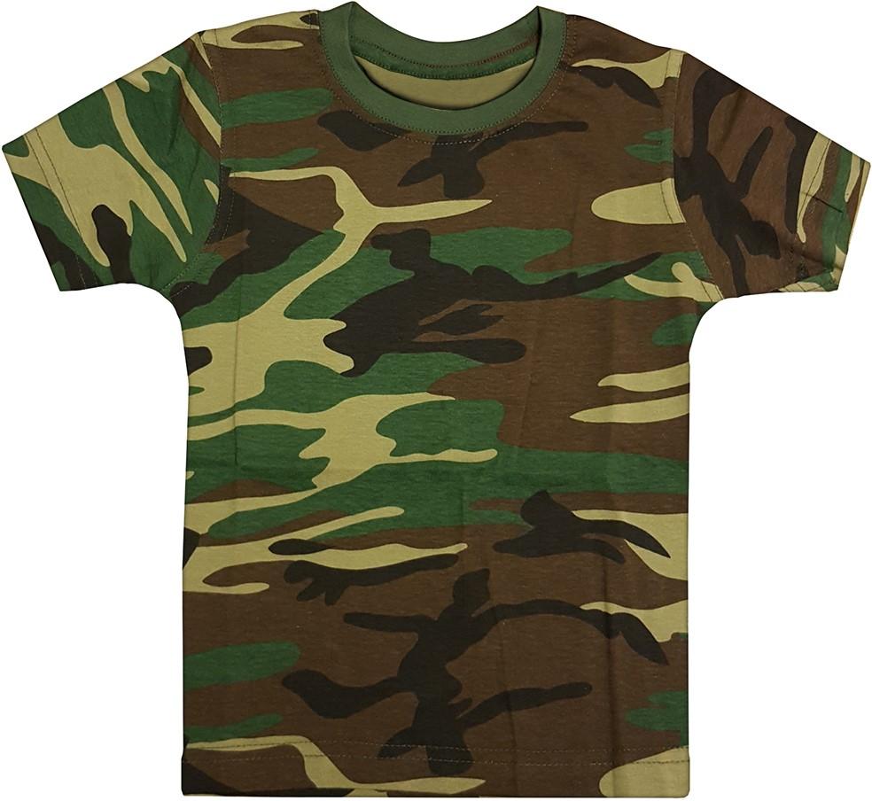 T Shirt Kinder CamouflageCarnavalsland Leger Kinder Julc3KFT1