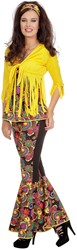 Dameskostuum Hippie Fringe (3dlg)