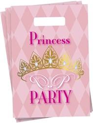 Feestzakjes Princess 6 stuks
