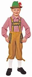 Tiroler Broek Bruin voor jongens