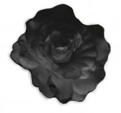 Bloemenbroche Glitter + Klem Zwart