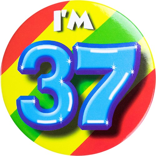 Button 37 jaar