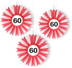 Honeycomb - Waaier 60 Verkeersbord 3st.