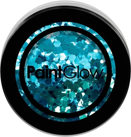 Paintglow Glitters Grof Turquoise 3gr.