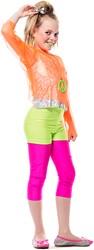 Hotpants Kinderen Neon Groen