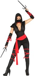 Dameskostuum Sexy Ninja