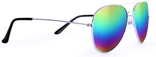 Spiegelglas Pilotenbril Regenboog-2