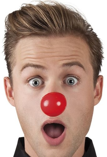 Clownsneus Plastic 24st (met elastiek)