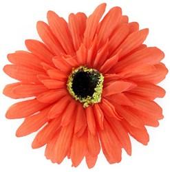 Bloemenbroche Gerbera Oranje