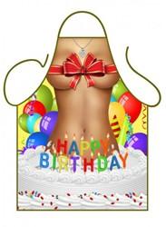 Schort Happy Birthday Girl