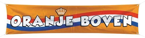 Banner Oranje Boven 180x40cm