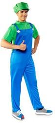 Super Luigi Kostuum Volwassenen