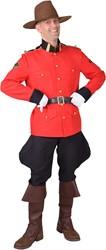 Herenkostuum Canadese Mountie Luxe