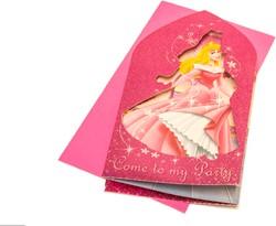 Uitnodigingen Disney Prinses 6 stuks