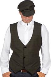Jaren 20 Overhemd Wit Luxe (100% Katoen)