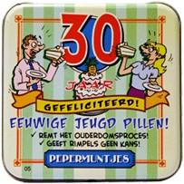 Pocket Tin 30 jaar