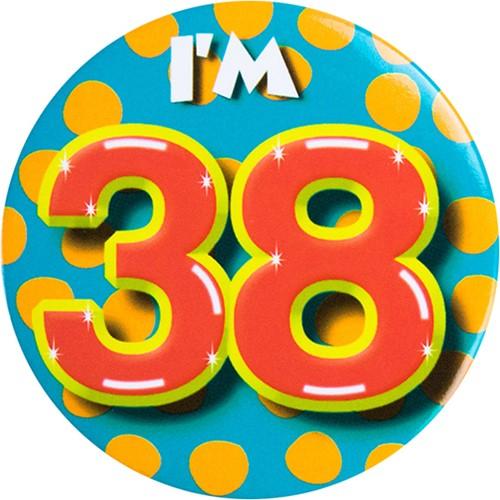 Button 38 jaar