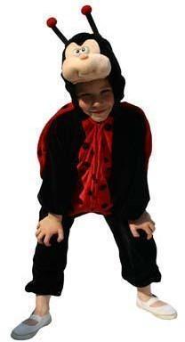 Kostuum Lieveheersbeestje voor kinderen