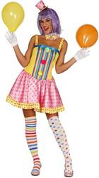 Dameskostuum Sexy Clowntje Candy