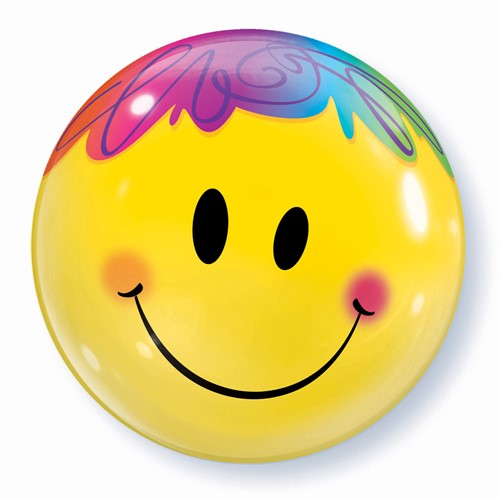 Bubble Ballon Smiley