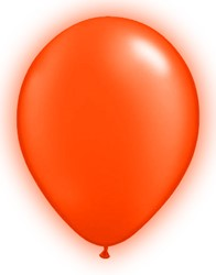 LED Ballonnen Oranje (5 stuks)