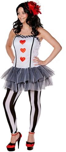 Damesjurkje Queen of Hearts