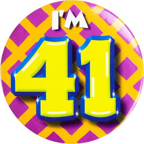 Button 41 jaar