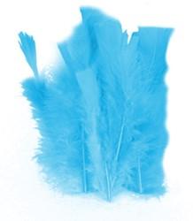 100 Veertjes Turquoise
