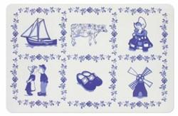Blue tiles Placemat