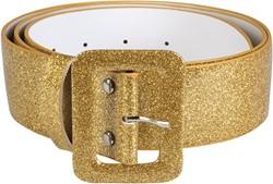 Riem Glitter Goud (120x5cm)