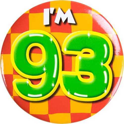 Button 93 jaar